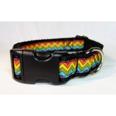 Rainbow Chevron - 25mm Width