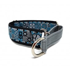 Geo shapes Martingale 40mm - 10-16""